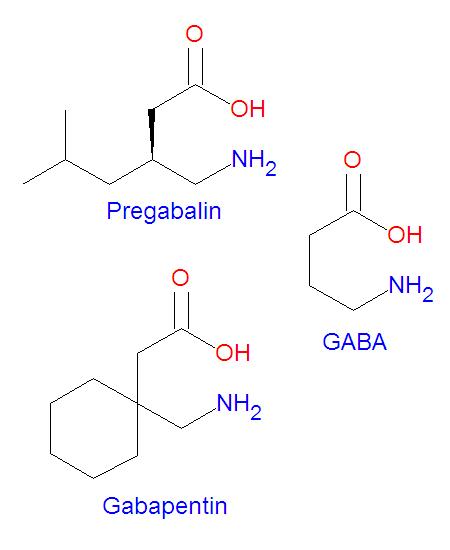 pregabalin structure activity relationship analysis